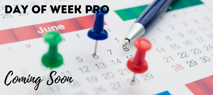 Image of Day of Week Pro calendar